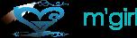 m'girl logo